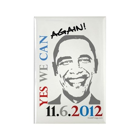 Yes We Can Again! Refrigerator Magnet