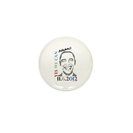 Yes We Can Again! Mini Button