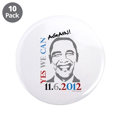 "Yes We Can Again! 3.5"" Button (10 pack)"