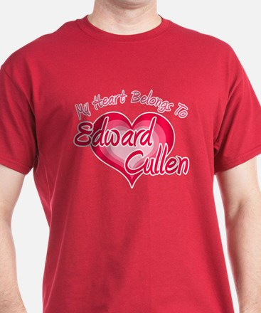 Edward Cullen Heart T-Shirt