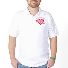 Edward Cullen Heart Golf Shirt