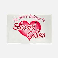 Edward Cullen Heart Rectangle Magnet