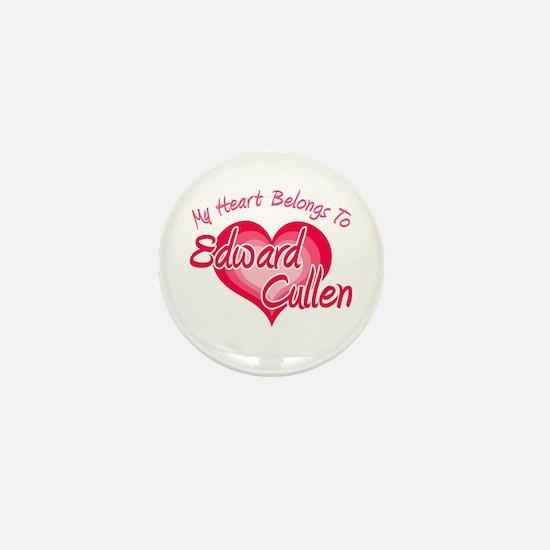 Edward Cullen Heart Mini Button