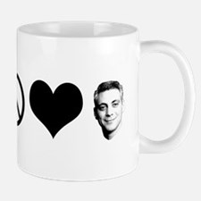 Peace, Love, Rahm Emanuel Small Small Mug