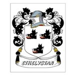 Ethelystan Coat of Arms Small Poster