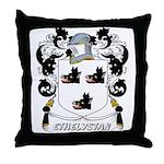 Ethelystan Coat of Arms Throw Pillow