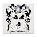 Ethelystan Coat of Arms Tile Coaster