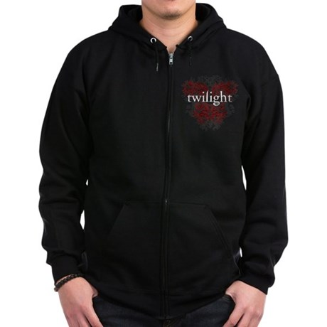 twilight fire Zip Hoodie (dark)