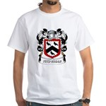 Fitz-Vrian Coat of Arms White T-Shirt