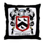 Fitz-Vrian Coat of Arms Throw Pillow