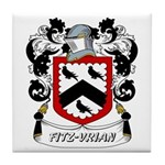 Fitz-Vrian Coat of Arms Tile Coaster