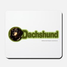 Long-Haired Dachshund Mousepad