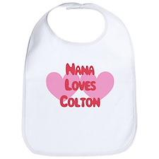 Nana Loves Colton Bib