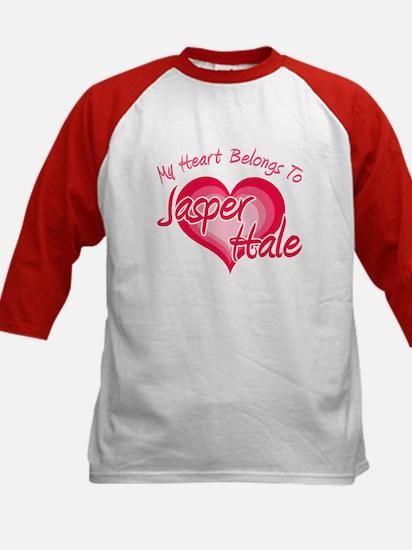 Heart Jasper Hale Kids Baseball Jersey
