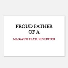 Proud Father Of A MAGAZINE FEATURES EDITOR Postcar