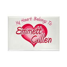 Emmett Cullen Heart Rectangle Magnet