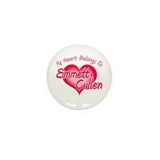 Emmett Cullen Heart Mini Button (10 pack)