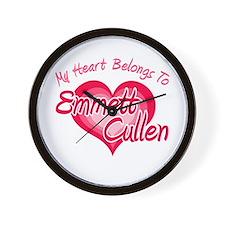 Emmett Cullen Heart Wall Clock