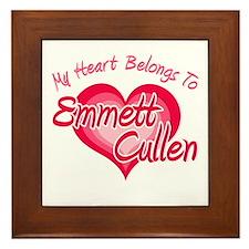 Emmett Cullen Heart Framed Tile