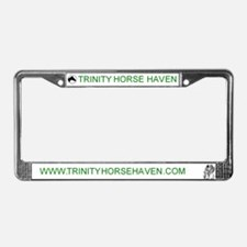 Trinity Horse Haven License Plate Frame