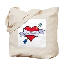 Heart Big Brother Tote Bag