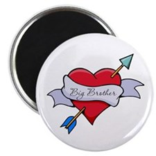 Heart Big Brother Magnet