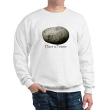 Cute Potato Sweatshirt