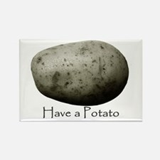 Cool Potato Rectangle Magnet