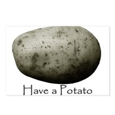Cute Potato Postcards (Package of 8)