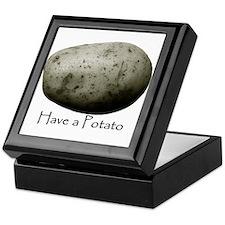 Unique Potatoe Keepsake Box