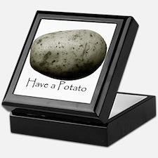 Unique Potato Keepsake Box