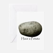 potato Greeting Cards