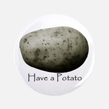 "Funny Potato 3.5"" Button"