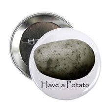 "Cute Potatoes 2.25"" Button (10 pack)"