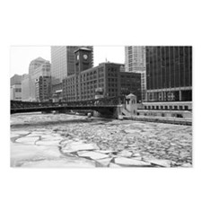 Chicago River 1 Postcards (Package of 8)