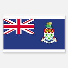 Cayman Islands Rectangle Decal