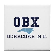 Ocracoke NC Tile Coaster
