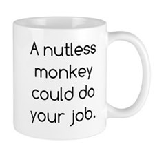 Nutless Monkey Mug