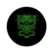 """Green Dragons 3.5"""" Button (100 pack)"""