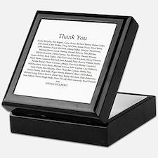 THANK YOU! Keepsake Box