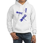 Dragonflies Hooded Sweatshirt