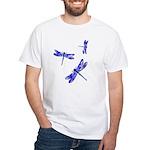 Dragonflies White T-Shirt