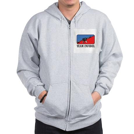 Team Infidel Logo Zip Hoodie