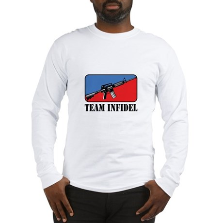 Team Infidel Logo Long Sleeve T-Shirt