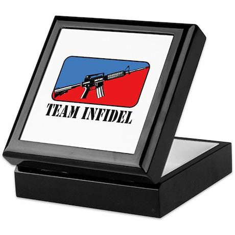 Team Infidel Logo Keepsake Box
