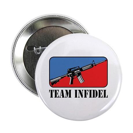 "Team Infidel Logo 2.25"" Button (100 pack)"