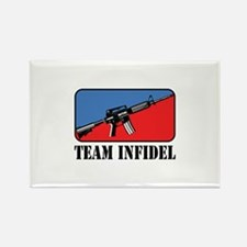 Team Infidel Logo Rectangle Magnet