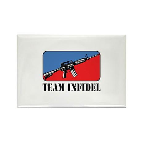 Team Infidel Logo Rectangle Magnet (10 pack)