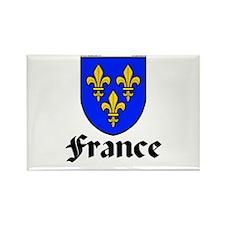 France: Heraldic Rectangle Magnet