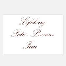 Peter Brown Postcards (Package of 8)